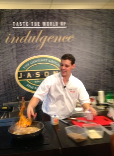 Take Home Chef at Jason's Kitchen with Chef Claudio Sandri