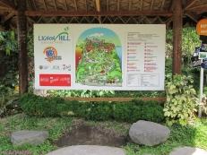 Map of Ligñon Hill Nature Park
