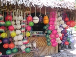 Lanterns are popular products. I bought a set (7 lanterns) for PHP120 (US$3)