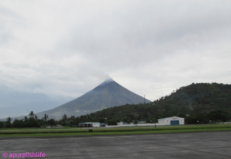 Mt. Mayon after the rain