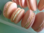 July: First customer! A friend asked me to bake macarons for her son's party. She said it's a hit <3