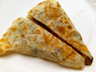 Adobo Quesadillas
